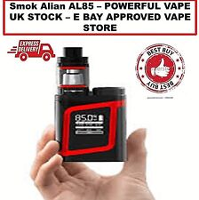 SMOK AL85 BABY ALIEN 85W VAPE MOD SMOK KIT RED/BLACK✅UK STOCK