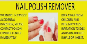 SOLVENT Nail Cleaner Polish Remover - Original Type - Fast, Free RUSH Shipping!!