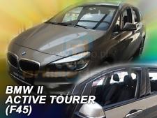 Windabweiser BMW 2er (F45) ACTIVE TOURER 5-türer 2015-heute 2-tlg HEKO dunkel