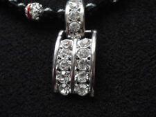 Handgefertigte Modeschmuck-Halsketten Strasssteine