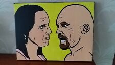 BLACK FRIDAY PRICE 2 DAYS ONLY Wwe bret hart and stone cold steve austin