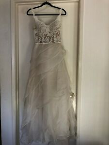Reem Acra wedding dress. Great condition! Fits size 2-4
