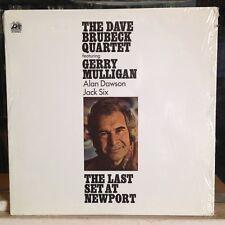 [JAZZ]~EXC/NM LP~DAVE BRUBECK QUARTET~GERRY MULLIGAN~The Last Set At Newport~'72
