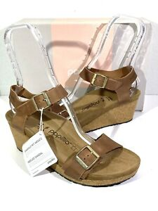 Papillio By Birkenstock Soley Women's Size 10(EU41)N Brown Wedge Sandals S1-261