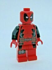 Lego Genuine DEADPOOL Minifigure from 6866 -Face is Scratched!