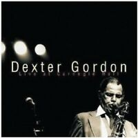 "DEXTER GORDON ""DEXTER GORDON-LIVE AT CARNEGIE HALL"" CD NEUWARE"