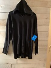 NWT Columbia Plus Size Longer Days Hoodie, Size 1X, MSRP $65 - Black