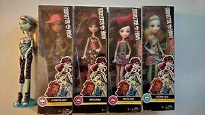 Monster high dolls new
