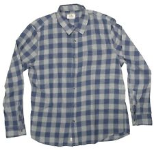 NWOT Marine Layer Plaid Noah Shirt Button Down Faded Red Navy New