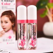 New Longlasting Lip Gloss Change Color Liquid Lipstick Moistourize Lip Tint.US