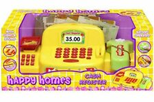 Supermarket Till Kids Cash Register Toy Gift Set with Light & Sound