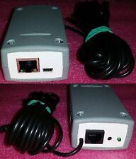 Internet thermometer upto 8 sensors, IP, Ethernet, LAN, SNMP, Telnet, Remote Log
