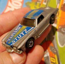 1977 Hot Wheels Stutz Blackhawk Metallic Silver - Blackwall BW HK - Diecast Car