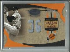 Gaylord Perry 2005 Leaf Certified FOTG Game Used Jersey #03/36