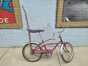 Ross Barracuda 3 Speed Muscle Bike Bicycle banana seat vintage