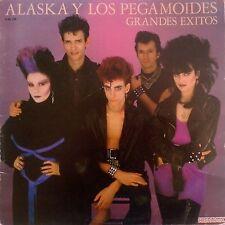 ALASKA Y LOS PEGAMOIDES Grandes exitos (Hispavox  EDICION ORIGINAL1982)