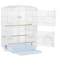 Large Pet Bird Cage Play Top Parrot Parakeet LoveBird Finch Animal Hanging White