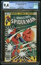 AMAZING SPIDER-MAN #244 (1983) CGC 9.4 CANADIAN PRICE VARIANT CPV WHITE PAGES