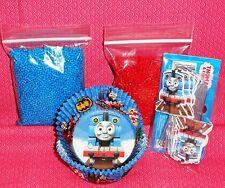 Thomas,Cupcake Kit,Picks,Sprinkles,Bake Cups,Wilton, Party Set,415-4242,Blue/Red