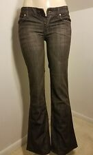 7 Seven for All Mankind 'A pocket' Women's Boot cut jeans 27 x 31 rhinestone