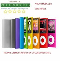 LETTORE PLAYER MP4 MP3 4GB 8GB 16GB 32GB VIDEO AUDIO FOTO RADIO FM NEW 2018