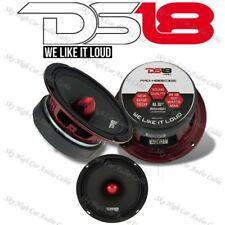 "DS18 PRO HB6EDGE 6.5"" Mid Range High Speaker 500 Watts Max Power 8 Ohm"