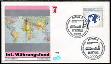 Berlin 817 FDC, Jahresversammlung Währungsfonds-IWF