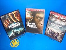 Peliculas EN DVD- EL ORIGEN DEL PLANETA DE LOS SIMIOS-EL AMANECER-EL PLANETA