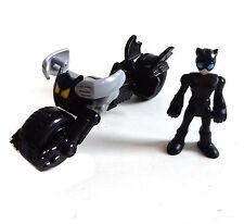 Fisher Price Toys Imaginext Figura De Dc Comics Catwoman & catbike SET RARE