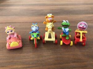 McDonalds Toys. Vintage 1986 Muppet Babies, complete set of 5.