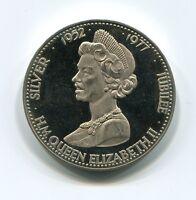 United Kingdom Silver Jubilee Queen Elizabeth II 1977 Proof Medal