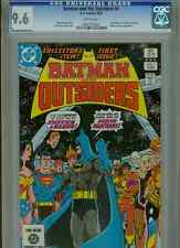 Batman and the Outsiders #1  CGC 9.6  White Pages