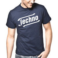 TECHNO Satire Kult Club DJ Hardstyle Sprüche Geschenk Lustig Spaß Comedy T-Shirt