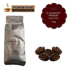 Caffè in Grani El Salvador Primium 1 Kg - Caffè Monorigine Arabica 100%