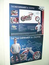 DALE EARNHARDT JR ORANGE COUNTY CHOPPER NASCAR POSTCARD