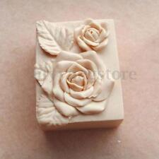 3D Rose Flower Silicone Soap Candle Mold Craft Molds DIY Handmade Soap Mould