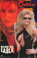 POSTER: WRESTLING: SABLE - BOMB ME  - WWF 1992 -  FREE SHIPPING ! #3462  RBW1 T