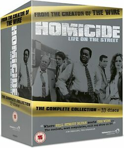 HOMICIDE LIFE ON THE STREET COMPLETE COLLECTION DVD Boxset 33 Disc New/Sealed R4