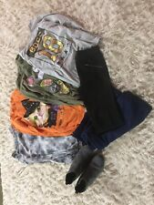 Girls Lot Of 7 Clothes Size 10/12. Justice, Childrens Place ,Target Blk Pants