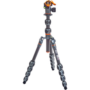 3 Legged Thing Pro 2.0 Leo Carbon Fibre Tripod With AirHed Pro Lever Kit - Grey