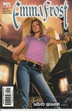 Emma Frost Lot of 5 comics Marvel Unread VF-NM