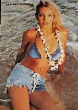 Britney Spears by George Holz 2000 Honolulu Hawaii vintage poster