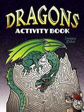 Dragons Activity Book by Jeremy Elder BRAND NEW BOOK (Paperback, 2013)