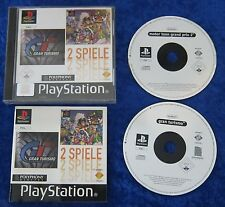 Grand Turismo + Motor Toon Grand Prix 2, PS1, PlayStation 1 Spiel, OVP Anleitung