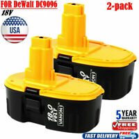 2X DC9096-2 BATTERY FOR Dewalt 18Volt XRP 3.0AH DC9098 DW9096 DE9095 POWER Tools