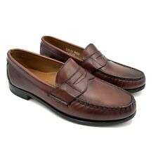 Allen Edmonds Cavanaugh Penny Loafers Men's Size 9.5 D Oxblood Dress Shoes