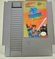 Dragon Spirit Nintendo Nes - Cleaned, Tested Authentic WORKS GREAT! Free ship!