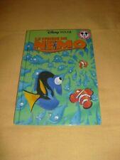 "DISNEY MICKEY CLUB DU LIVRE ""Le Monde de Nemo"" Pixar"