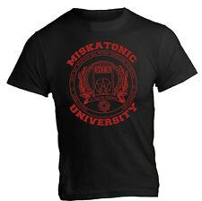 t-shirt Miskatonic University Necronomicon hp lovecraft maglia