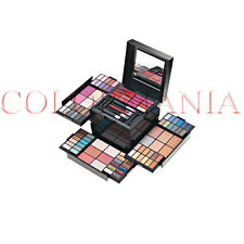 DEBORAH MAKE UP KIT XXLARGE TROUSSE COFANETTO TRUCCO MAKE UP OMBRETTI GLOSS FARD